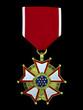 3d render legion of merit medal