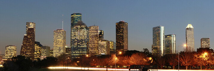 Skyline of the City of Houston, Texas