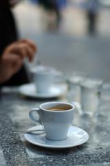 pause café en terrase