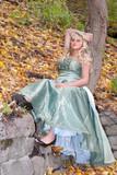 pretty prom girl poster