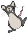 Maus, Ratte, tanzen, Dicso, betrunken, verrückt, besoffen