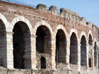 dettaglio dell' Arena di Verona