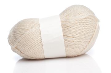 White wool threads