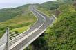 pont à haubans, route des Tamarins, Ile de la Réunion