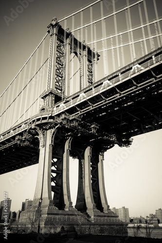 Manhattan Bridge in New York City - 20815177