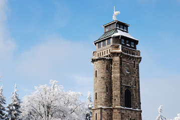Turm Winter Auersberg