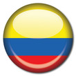 Chapa bandera Colombia