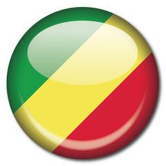 Chapa bandera Congo