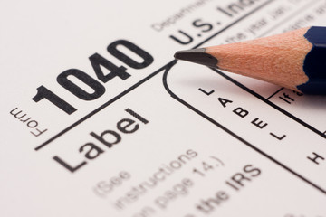 Filling tax forms 1040