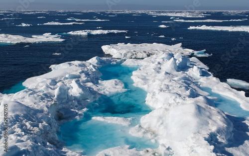 Fotobehang Antarctica 2 Nunavut (canadian arctic)