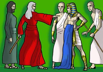 Mose und Pharao