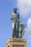 Lord Nelson Statue in Bridgetown, Barbados poster