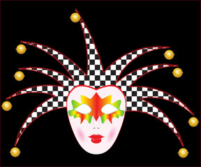 Carnival mask - vector illustration