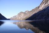 Fototapety Fjordartige Berglandschaft am Königssee
