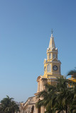 The Clock Tower. Cartagena de Indias, Colombia poster