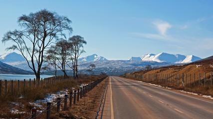 Torridon mountain range