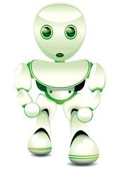 mascotte : robot de service