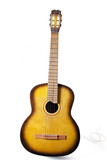 Acoustic guitar with broken string poster