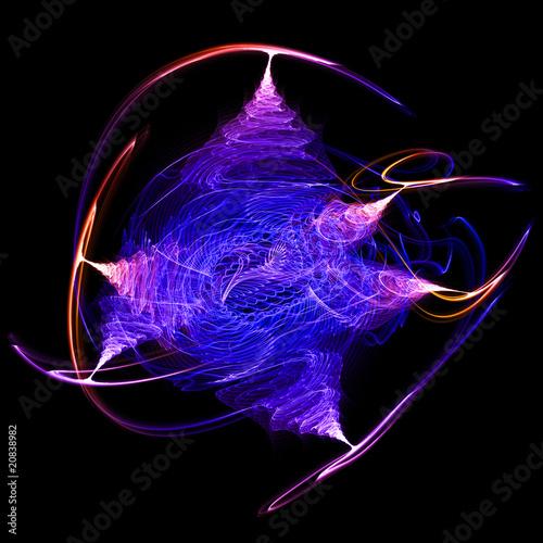 Leinwandbild Motiv energy formation