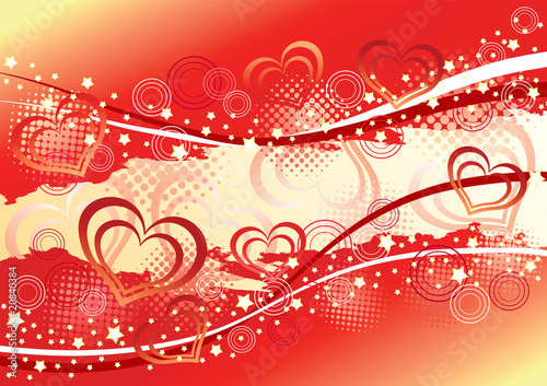 Abstract valentine's  background.