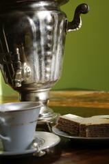Samowar z kawą