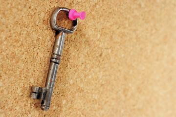 vecchia chiave in ferro