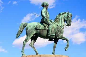 Statue of archduke Albrecht of Austria, Vienna