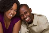 Fototapety Smiling Black Couple