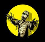 Comic Book Mummy poster