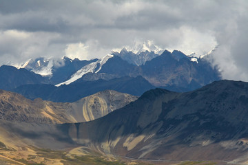 Cordillera Real in Bolivian Andes