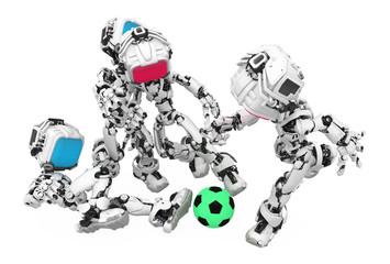 Blue Screen Robot, Soccer