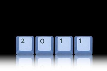 Gespiegelts Jahr 2011