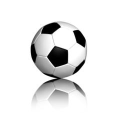 Fußball abstrakt