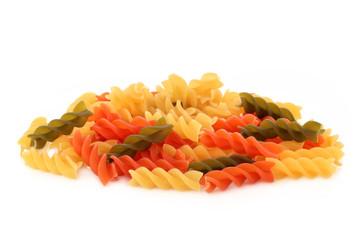 Fusilli Pasta Tricolor