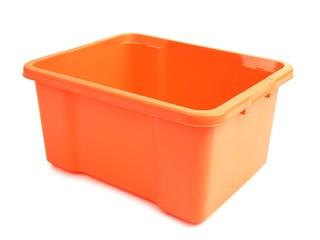Plastikkiste orange