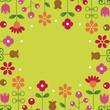 flower background.vector illustration