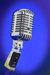 Altes professionelles Elvis-Mikrofon - Retro