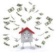 Maison et dollars