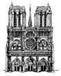 Notre Dame cathedral in Paris - 20883127