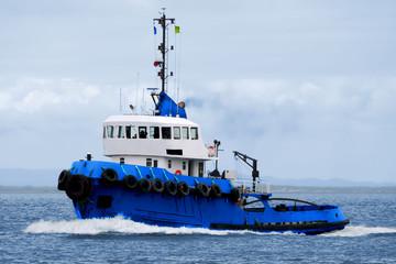 Tugboat Underway C1