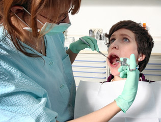 Spritze Betäubung beim Zahnarzt