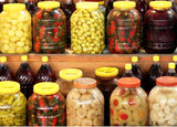 Pickles in a Turkish Bazaar poster