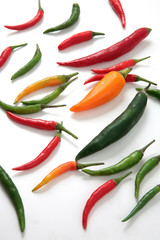 chili peppers guindillas