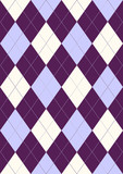 Seamless pattern in rhombuses poster