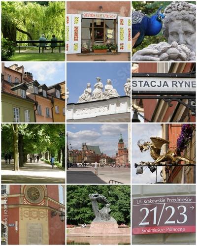 Warszawa - parki i zabytki - 20894536