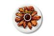 alitas de pollo y salsa barbacoa - 20895346