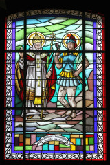 Saint Fabian and San Sebastian