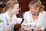 Fototapety freundinnen im cafe
