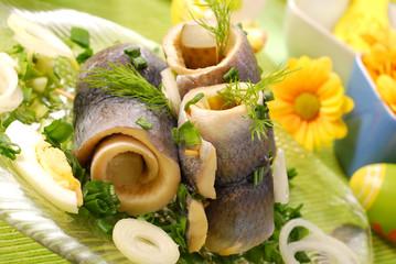 herring rolls  for easter