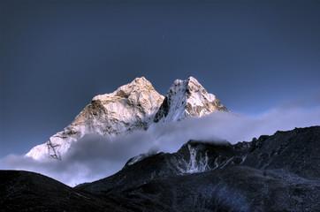 AMA Dablam - solo Khumbu Himalaje, Nepal